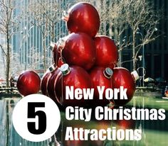 New York City Christmas Attractions