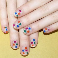Play with shapes, striping and negative space in cheery summer shades.@jinsoonchoi