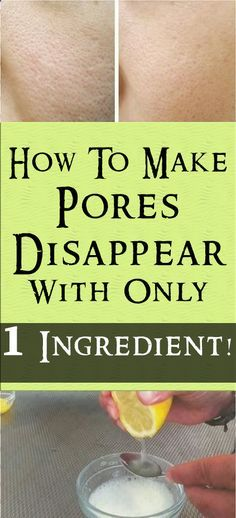 HOW TO MAKE PORES DISAPPEAR WITH ONLY 1 INGREDIENT! #fitness #beauty #hair #workout #health #diy #skin