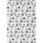 Dekostoff Tiere im Weltall Dekostoff 140 cm breit, 100 % Baumwolle Farbe: BLAU #Kreuzstich kreativ #nähen #Stoffe