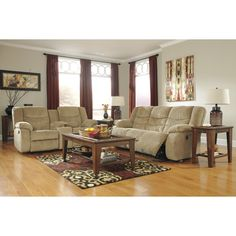 Merveilleux Sand Reclining Living Room Set | Brianu0027s Furniture