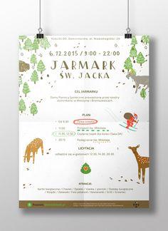Jarmark św. Jacka (Poznań, 2015). Projekt: Elżbieta Kowalska & Piotrek Szyszka. Konsultacja: Sztab Jarmarku św. Jacka. Mockup: Piotrek Szyszka.