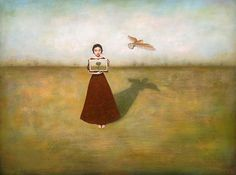 Duy Huynh -- Paintings- different paths to the same page