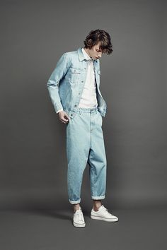 517fe43b The Livingstone Jacket Arctic 12oz Selvedge, St Ives Shirt Oxford White and Boxer  Jeans Arctic