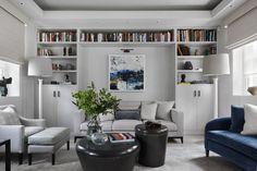 Hogarth House by Studio Duggan Hogarth House, Living Spaces, Living Room, Cozy Room, Home Studio, Interior Design Studio, Drawing Room, Beautiful Space, Contemporary Interior