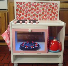 Ikea RAST play kitchen.
