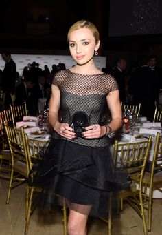 Peyton List Photos - 9th Annual Delete Blood Cancer Gala - Inside - Zimbio