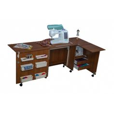 Sewing and Craft Table, Multiple Finishes Classic Office Furniture, Home Office Furniture, Office Desk, Corner Desk, Sewing, Craft, Table, Home Decor, Corner Table