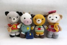 Back To School Friends Amigurumi Pattern