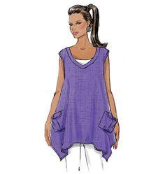Butterick 6056 - Top, blouse