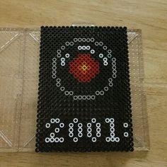 HAL 9000 - 2001 movie perler beads by mr_jamesromo