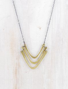 """fail+CANOE 18"""" Gorge Necklace. $90 #jewelry #accessories #necklaces"""