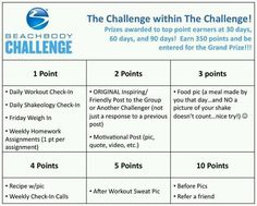 Challenge group points