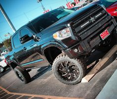 Our latest custom at Red McCombs Toyota Red Mccombs, Toyota Tundra, Monster Trucks, Vehicles, Car, Vehicle, Tools
