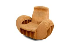 1stdibs.com | Cardboard Rocker Easy Edges Attributed to Frank O Gehry