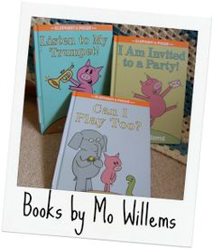 Great books by Mo Willems - Author study and activities/ideas