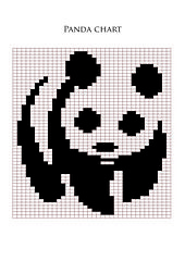 This pattern is available as a free Ravelry download It's a free Panda chart.  Enjoy it.