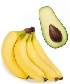 Banana, Avocado & Oil Bananas and avocados are full of nutrients that can increase the moisture content of our hair, smooth frizz, and soothe an itchy scalp. Use this mask once a month for best results!