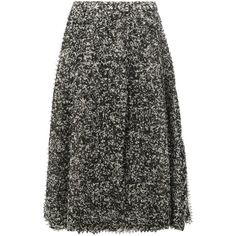 Anrealage pixelated print midi skirt ($803) ❤ liked on Polyvore featuring skirts, grey, anrealage, print midi skirt, grey skirt, patterned skirts and calf length skirts
