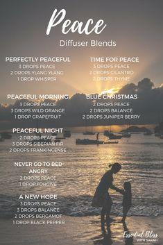 dōTERRA Peace Diffuser Blends