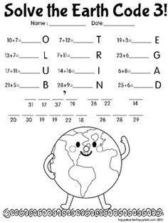 Earth Day Worksheets: Earth Day Wordsearch Puzzle | Frees ...