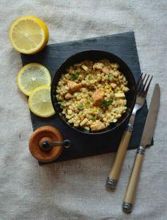 Tarta na spodzie z marchewki - Planeta Smaku Risotto, Ethnic Recipes, Food, Meals, Yemek, Eten