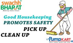 It's our responsibility to maintain all the necessary items in their proper places and make a productive #environment at home and at work. Keep following #Swachh #Bharat #Abhiyan