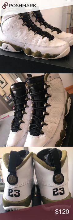 a87d8d5a457c57 Shop Kids  Jordan White Black size Boys 6 Sneakers at a discounted price at  Poshmark. Jordan 9 RetroAir ...
