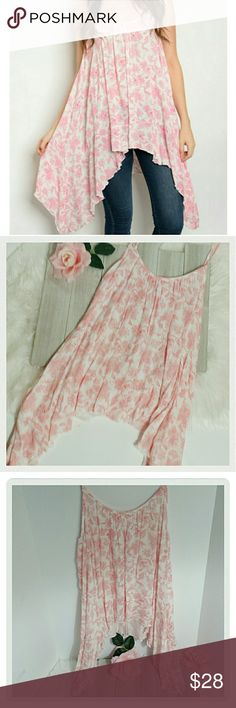 Selling this Bohomian Floral Asymmetrical top on Poshmark! My username is: knotbaad. #shopmycloset #poshmark #fashion #shopping #style #forsale #winwin #Tops