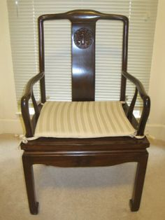 Found On Estatesales Net Host Chair One Of 6 Handmade Teakwood