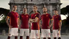Nike Unveil Roma 15/16 Home Shirt