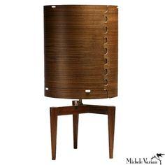 Wood Veneer Lamp: