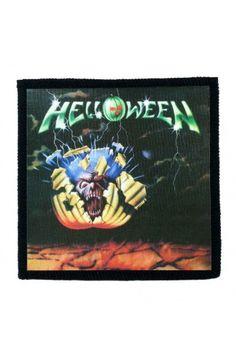 HELLOWEEN- Helloween (toppa piccola)   - misure: (larghezza 10 cent. - altezza 10 cent.)