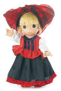 Hungarian Precious Moments Doll
