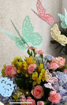 E mais um projeto de um lindo Chá de Bebê com este que é um dos temas mais queridinho entre as mamães: Jardim das Borboletas!!! ...