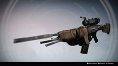 Fury of The Wild: Exotic Auto Rifle Concept by M0ntagne The 3rd, Benjamin Ratterman on ArtStation at https://www.artstation.com/artwork/LkYLl