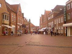 Shopping street in Meppen