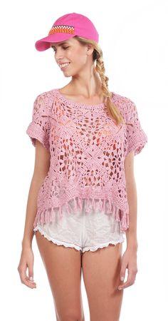 sweater summer pink - Comprar en de las bolivianas — de las bolivianas