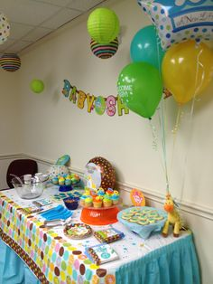 Fisher Price baby shower - a stylish celebration for a new arrival!