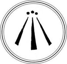 Arwen or the symbol of three rays signifies a balance - Tatouage gitane signification ...