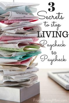 Maybe it happened gradually as you added debts or other expenses to your budget until you could no longer live comfortably, or perhaps you've always struggled. No matter why you're living paycheck to paycheck, these tips can help you break out of the cycle