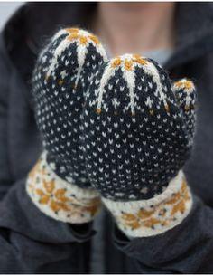 Knitting Mittens Fair Isle Beautiful New Ideas Knitted Mittens Pattern, Crochet Mittens, Knitting Socks, Knitted Hats, Knitting Patterns, Knit Crochet, Stitch Patterns, Fair Isle Knitting, How To Purl Knit