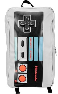 Nintendo NES Controller Grey Backpack  i have this and love it  Nintendo  Controller 418256198243d