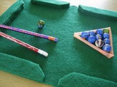 How to Make a Mini Pool Table