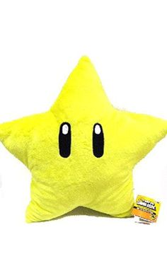 Mario Brothers: Starman 20-inch Plush Pillow Best Price