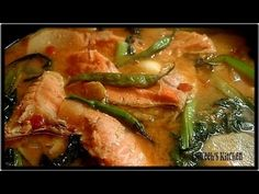 Sinigang na Salmon sa Miso/Luweeh's Kitchen - YouTube