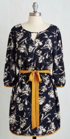 pretty floral ribbon dress