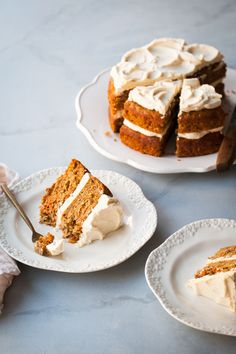 The Best Carrot Cake Recipe with Brown Butter Frosting — Style Sweet CA