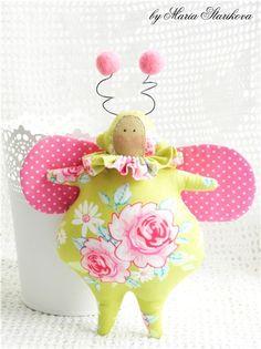 "Meet ""Bug"" from Tilda's Spring Ideas  -x-"
