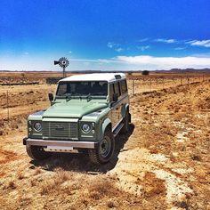 Land Rover Defender Heritage Edition photographed by Justin Pienaar